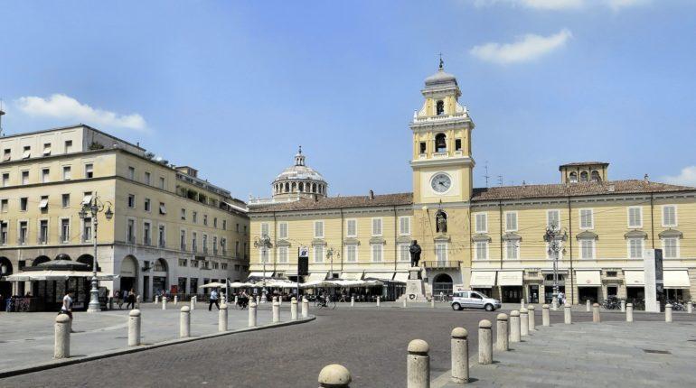 Una foto del centro di Parma