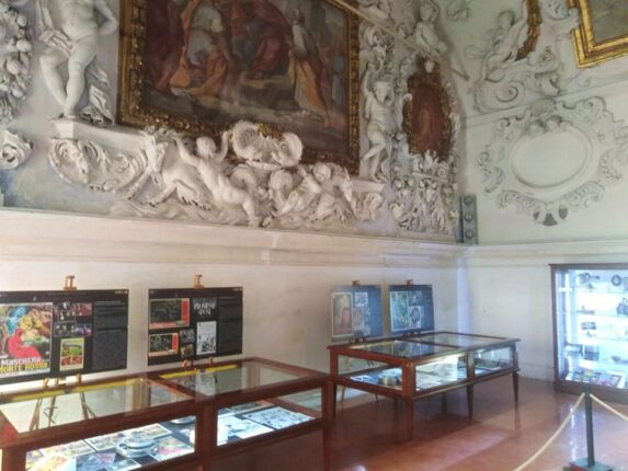 "Una sala della mostra ""Salus populi"" a Palermo"