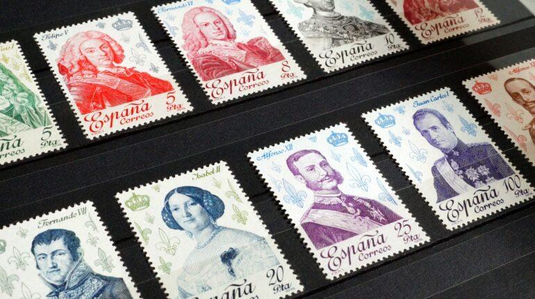 Alcuni francobolli spagnoli