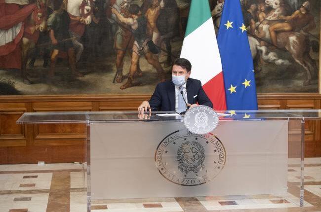 Conferenza Stampa Presidente Conte 4 novembre