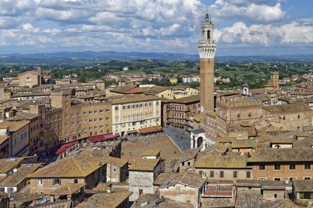 Siena: il centro della Città