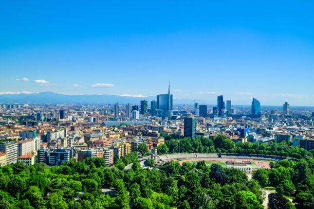 Milano: paesaggio